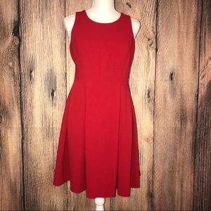 Loft Ann Taylor size 4 red dress